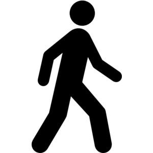 Walking Clip Art Free | Clipart Panda - Free Clipart Images Stick Man Walking Away