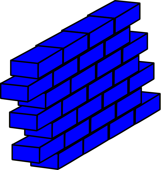 Stone Block Clip Art : Wall clipart panda free images