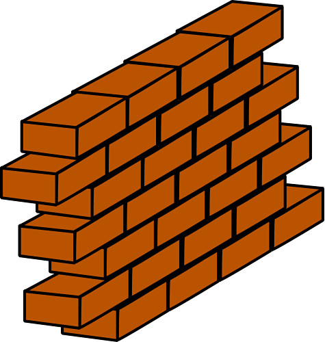 brick clipart clipart panda free clipart images rh clipartpanda com Brick Wall Tattoo Brick Wall Coloring Sheet