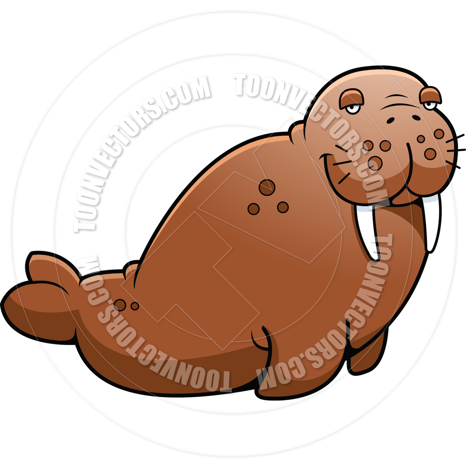 Fat walrus cartoon - photo#17