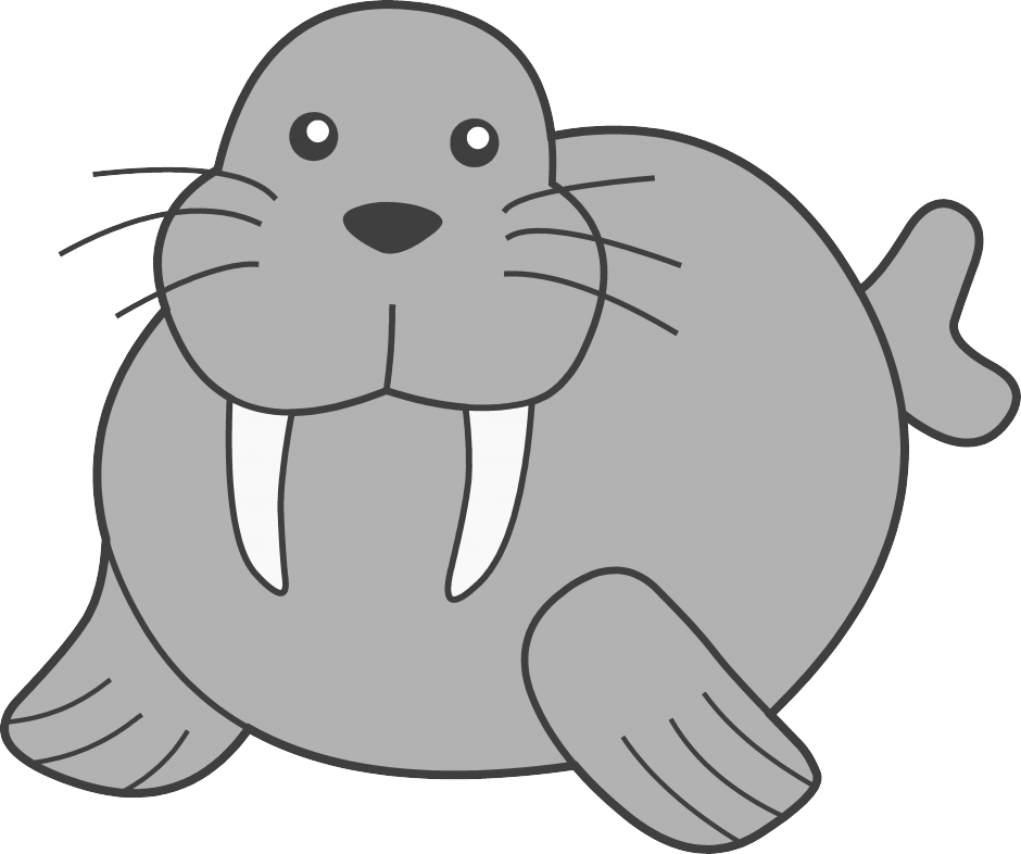 Clip Art Walrus Clipart walrus clipart panda free images