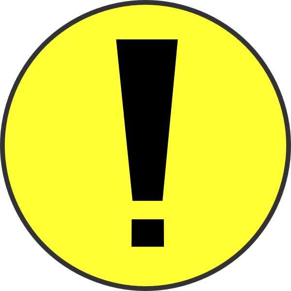 Warning Clipart Clipart Panda Free Clipart Images