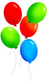 free birthday balloon clip art clipart panda free clipart images rh clipartpanda com clipart of balloons black and white clipart of balloons black and white