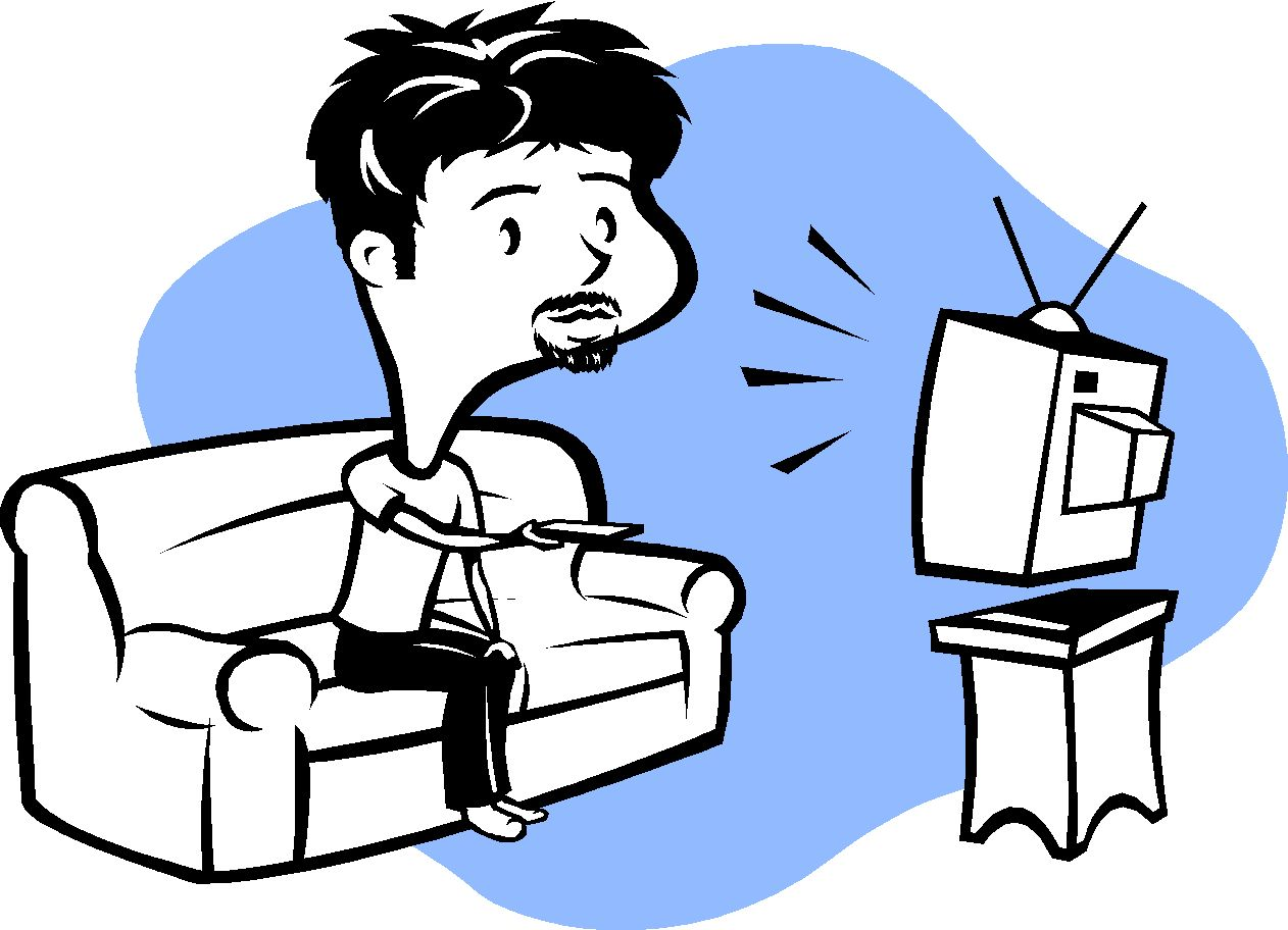 Family Watching Tv Clipart   Clipart Panda - Free Clipart ...