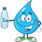 Image result for water bottle clipart