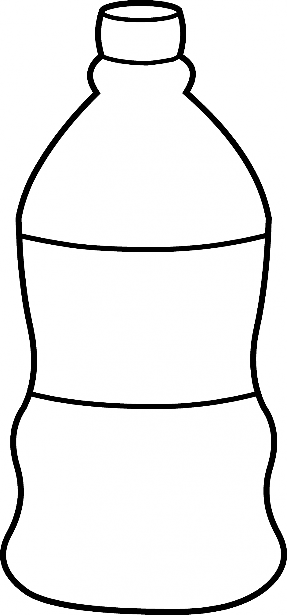 water-bottle-coloring-page-Water-Bottle-Line-Art-Free-Clip-Art ...