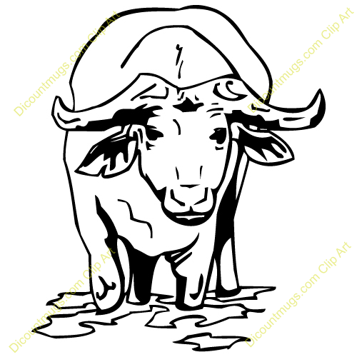 Water Buffalo Clipart | Clipart Panda - Free Clipart Images