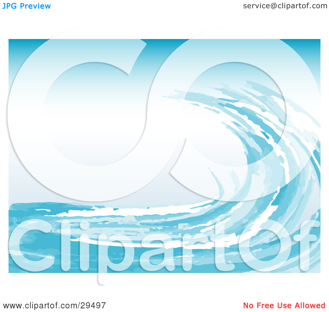 Water Waves Illustration | Clipart Panda - Free Clipart Images