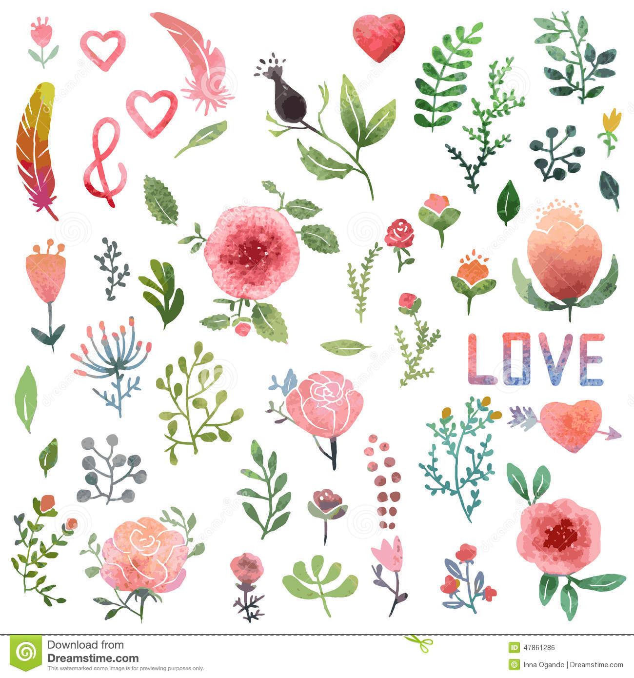 Wedding Tree Watercolor Clipart: Clipart Panda - Free Clipart Images