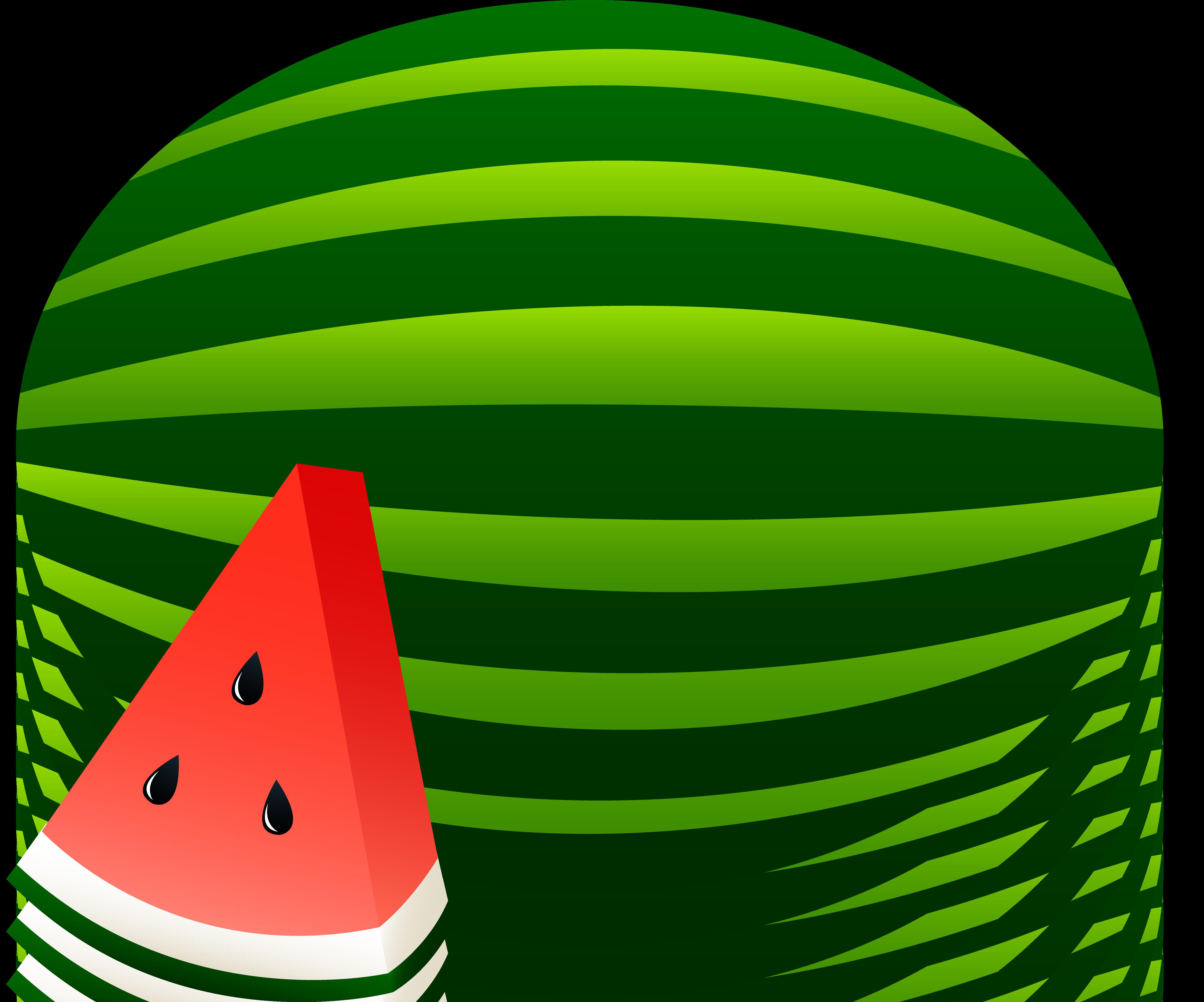 Watermelon Clipart Black And White   Clipart Panda - Free ...