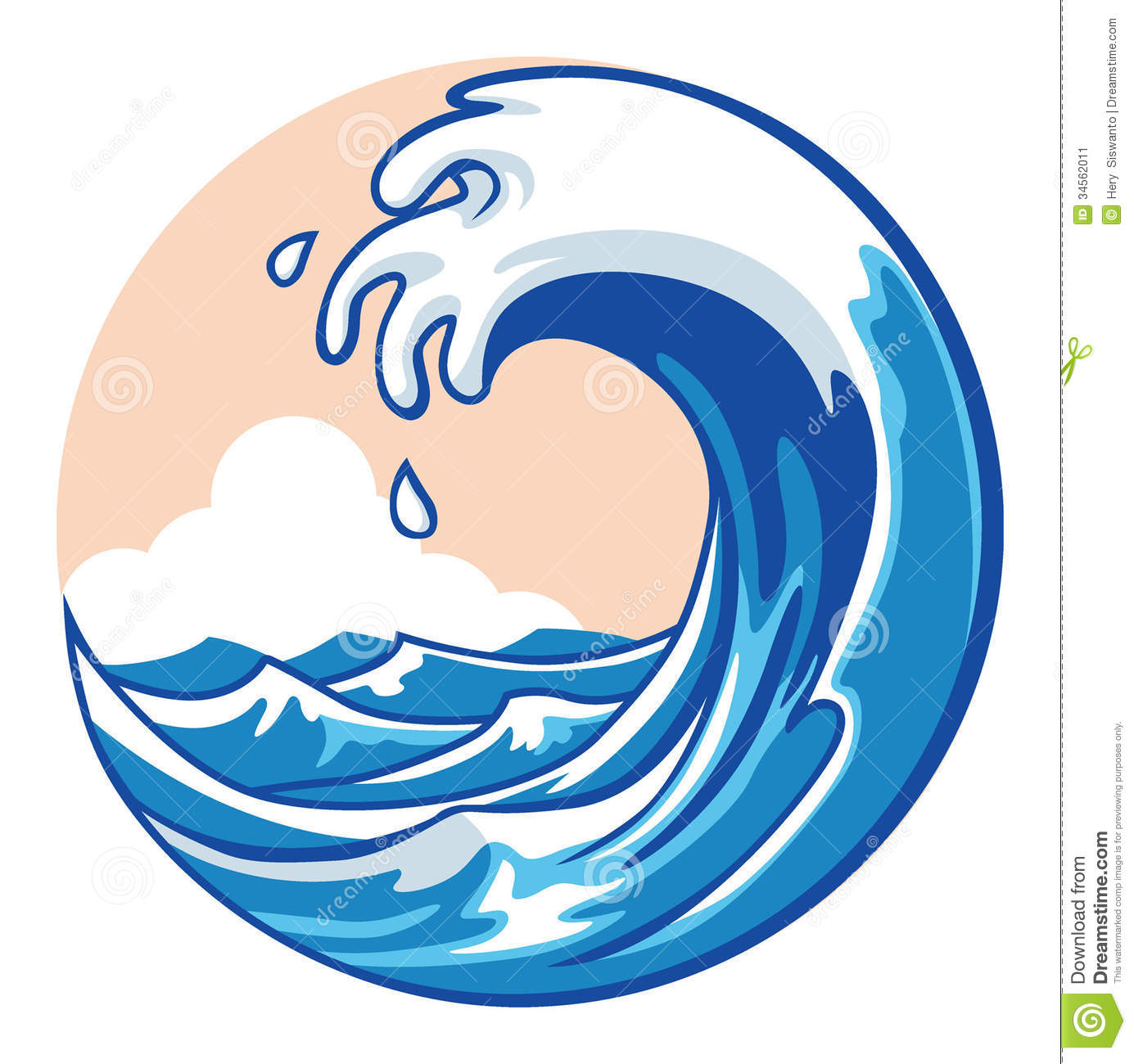 ocean wave clipart panda free clipart images rh clipartpanda com ocean wave clipart free Water Waves Clip Art Black and White