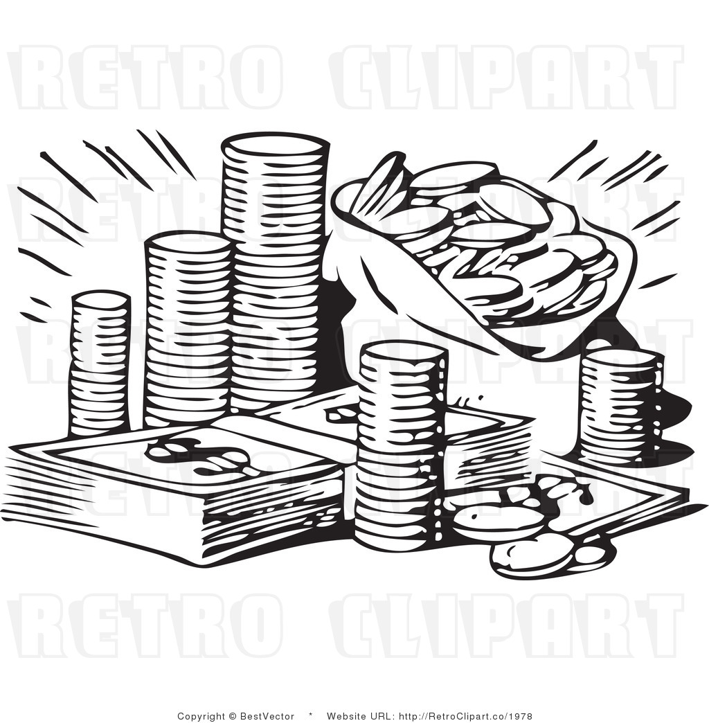 wealth clipart clipart panda free clipart images Money Graphics stack of money clipart black and white