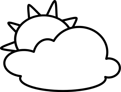 Weather Clipart Black And White | Clipart Panda - Free ...