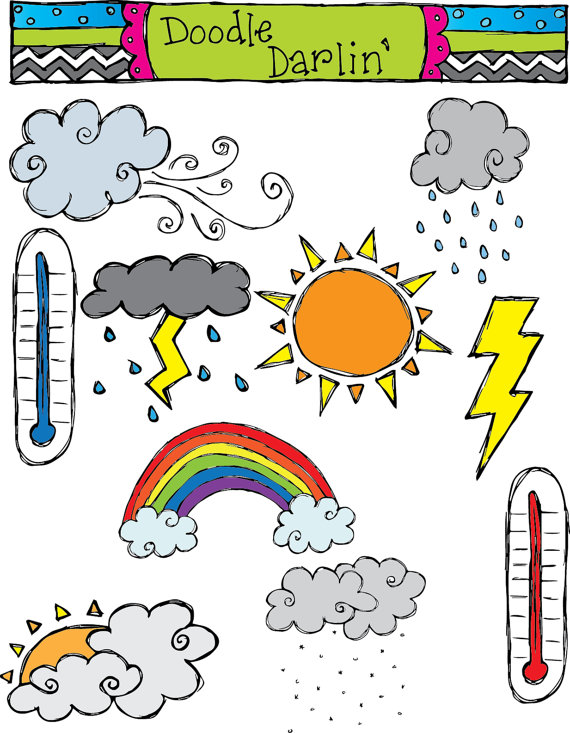 Weather Clip Art With Words Clipart Panda Free Clipart
