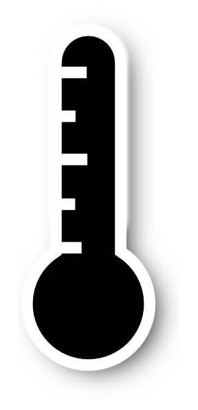 Thermometer Black And White | Clipart Panda - Free Clipart ...