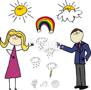 Weather Man and Woman Royalty   Clipart Panda - Free ...