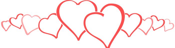 Wedding Banner Clipart Heart Border Cl...