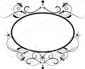 Wedding Clip Art Black And White Border | Clipart Panda - Free ...