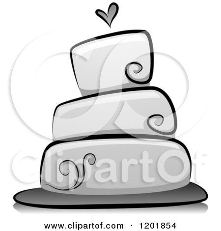 Modern Wedding Cake Clip Art | Clipart Panda - Free ...