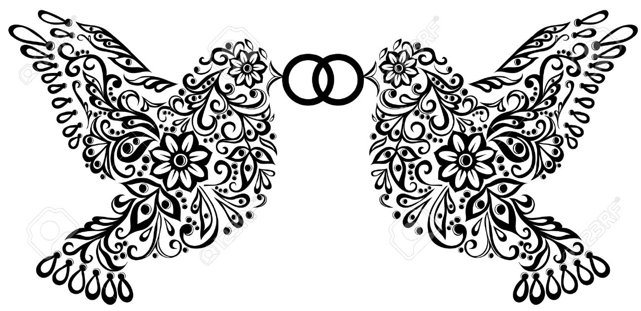 Wedding Clipart Black And White | Clipart Panda - Free Clipart Images