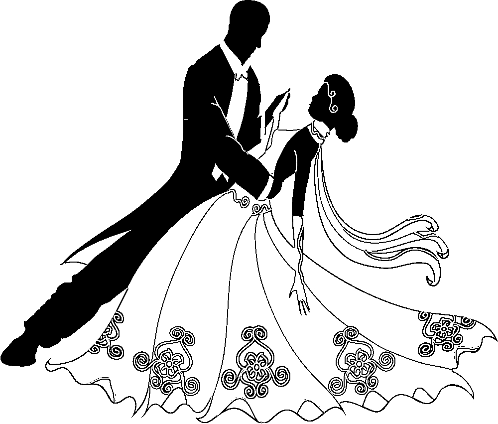 Line Art Wedding : Wedding clipart black and white panda free