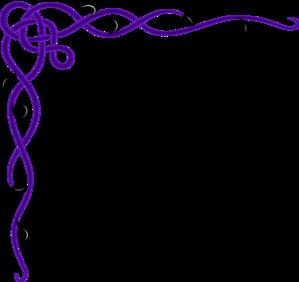 wedding 20corner 20border  Purple Top Border Clip Art