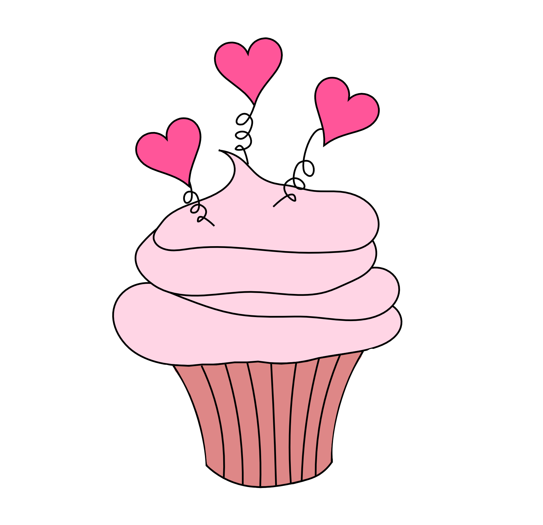 wedding cupcake clipart clipart panda free clipart images