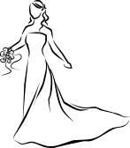 bridal dress clip art fpjturc clipart panda free clipart images rh clipartpanda com wedding dress clip art silhouettes wedding dress clipart black and white