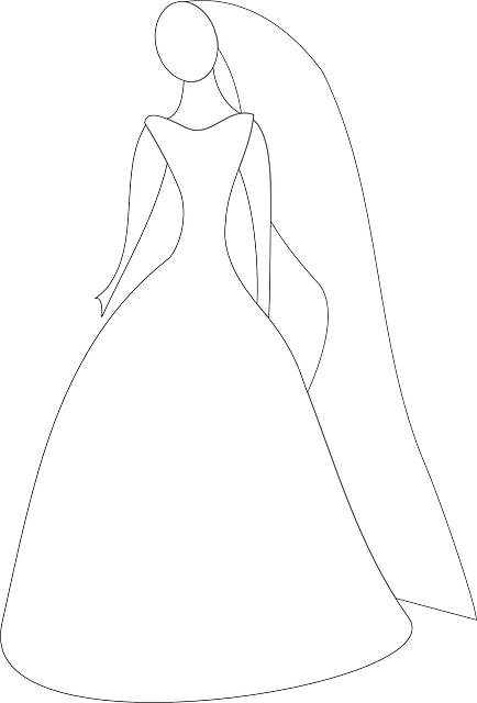 Wedding Dress Outline   Clipart Panda - Free Clipart Images