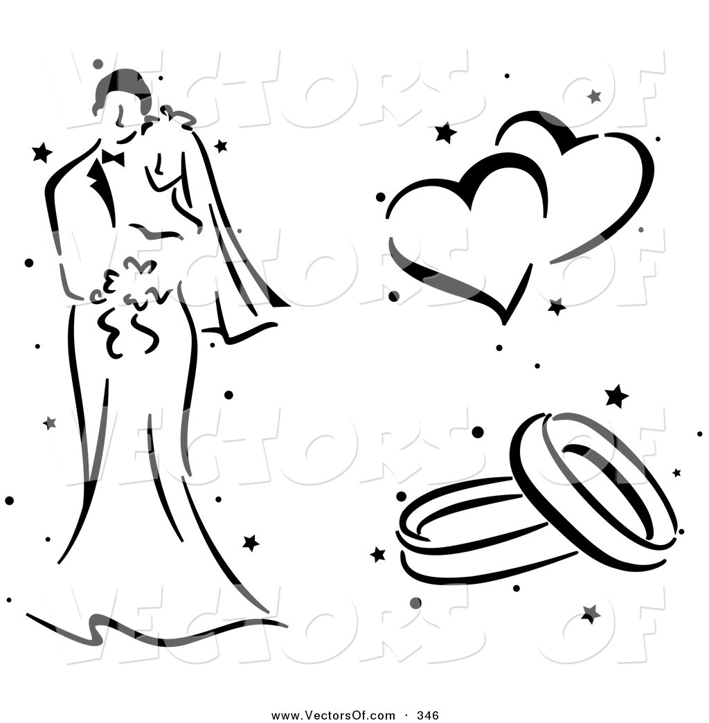 Wedding Hearts Clipart Black And White | Clipart Panda - Free ...