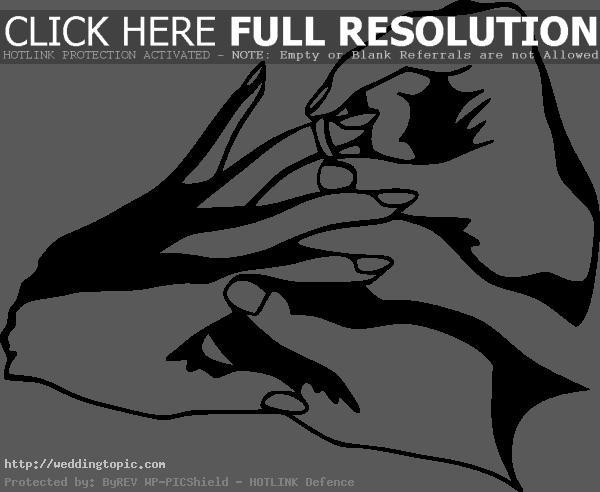 Wedding Rings Clip Art Black Clipart Panda Free Clipart Images