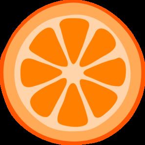 Orange Slice Clipart Black And White | Clipart Panda ...
