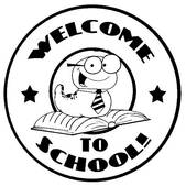 welcome%20back%20to%20school%20clipart%20black%20and%20white
