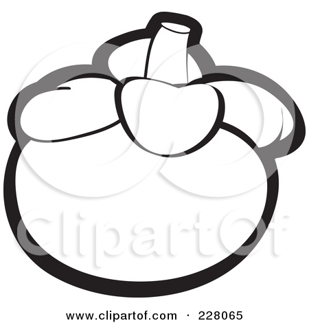 Mangosteen Printable Coloring Clipart Panda Free Clipart Images