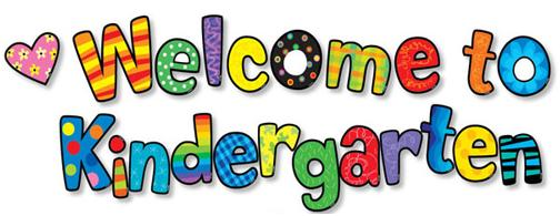 Image result for welcome to kindergarten banner