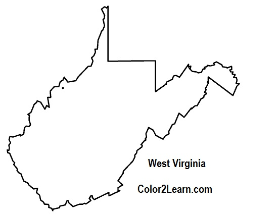 virginia state coloring page - west virginia clip art free clipart panda free clipart
