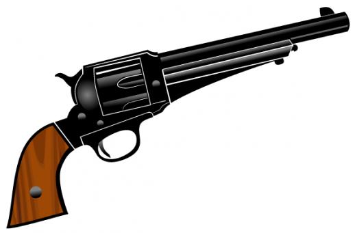 Western Revolver Gun Western Gun Clipart | ...