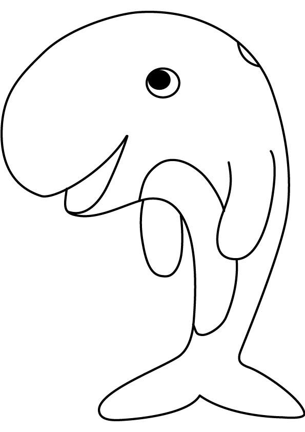 Whale Coloring Pages Clipart Panda