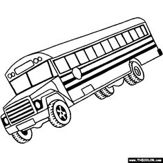 Wheels bus coloring pages ~ School Bus Driver Coloring Page | Clipart Panda - Free Clipart Images