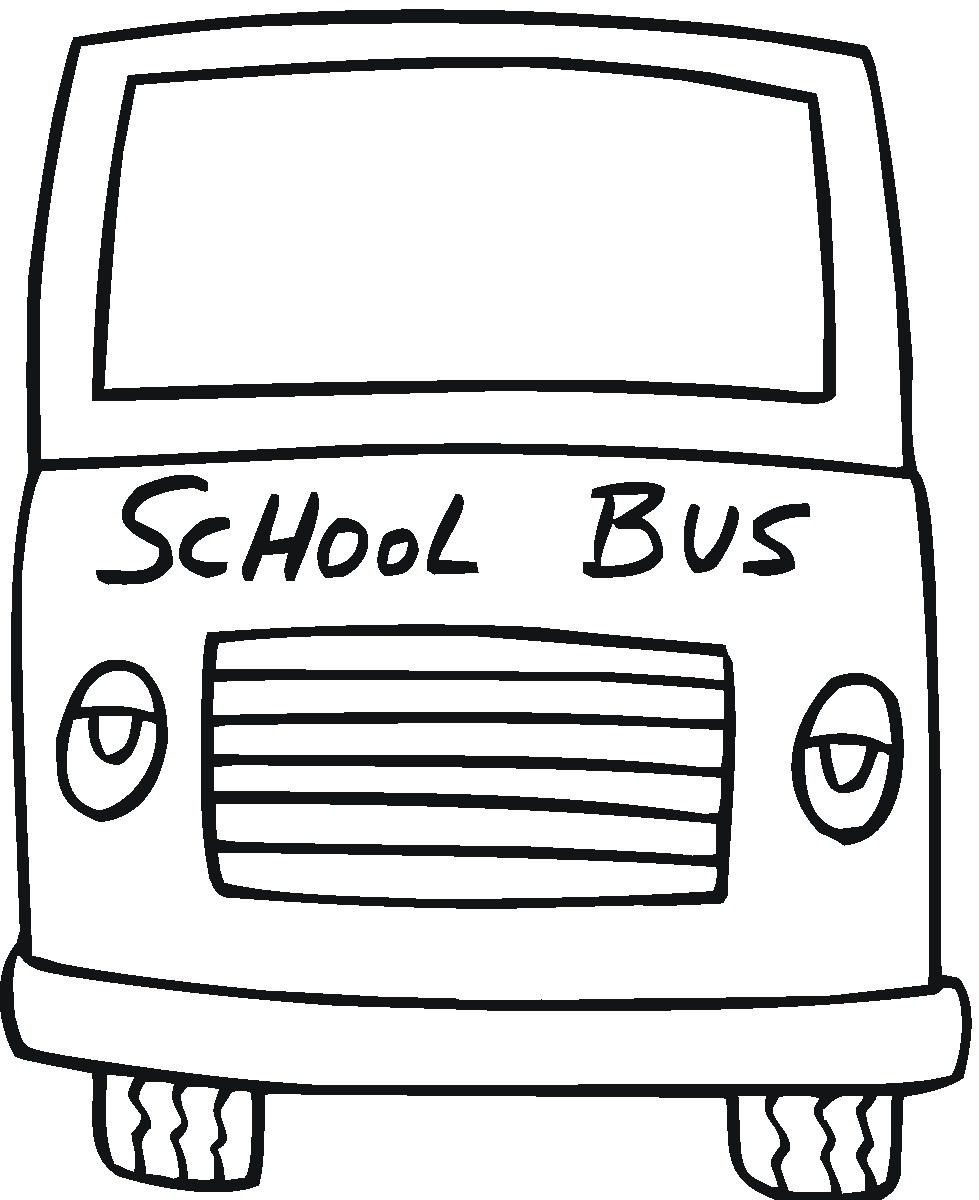 Magic school bus coloring pictures - Wheels 20on 20the 20bus 20coloring 20page