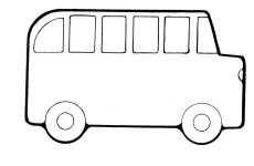 Wheels bus coloring pages ~ bus coloring pages to print | Clipart Panda - Free Clipart Images