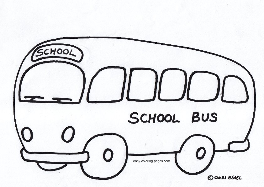 School Bus Coloring Pages Clipart Panda Free Clipart Images