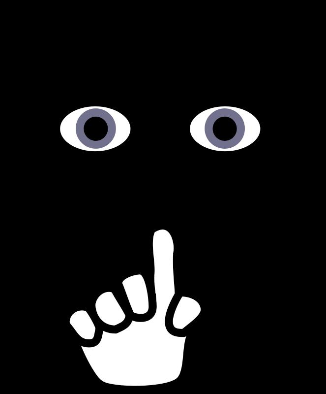 (Quiet Voice Clip Art). | Clipart Panda - Free Clipart Images