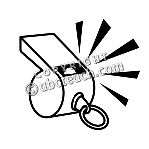 Clip Art: Whistle B&W | Clipart Panda - Free Clipart Images