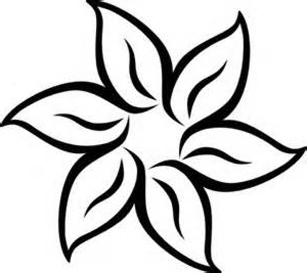 Flower clip art free black and white alternative clipart design black and white flower border clipart clipart panda free clipart rh clipartpanda com mightylinksfo