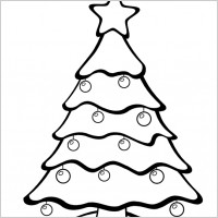 clip art christmas tree black and white clipart panda free rh clipartpanda com christmas tree decorations clipart black and white christmas tree clipart black and white