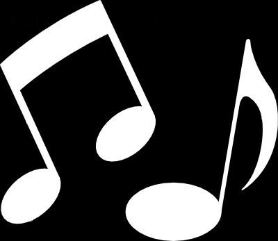 white music notes clipart panda free clipart images rh clipartpanda com