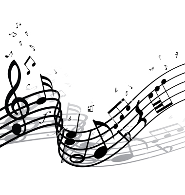 Black And White Music Notes Background ... Photos - Music Not...