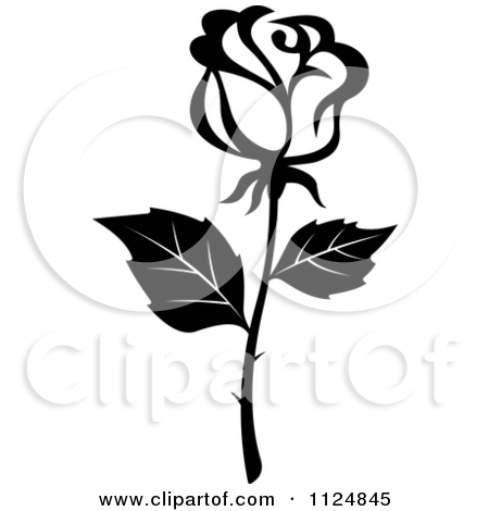Black And White Rose Flower 16 Clipart Panda Free Clipart Images
