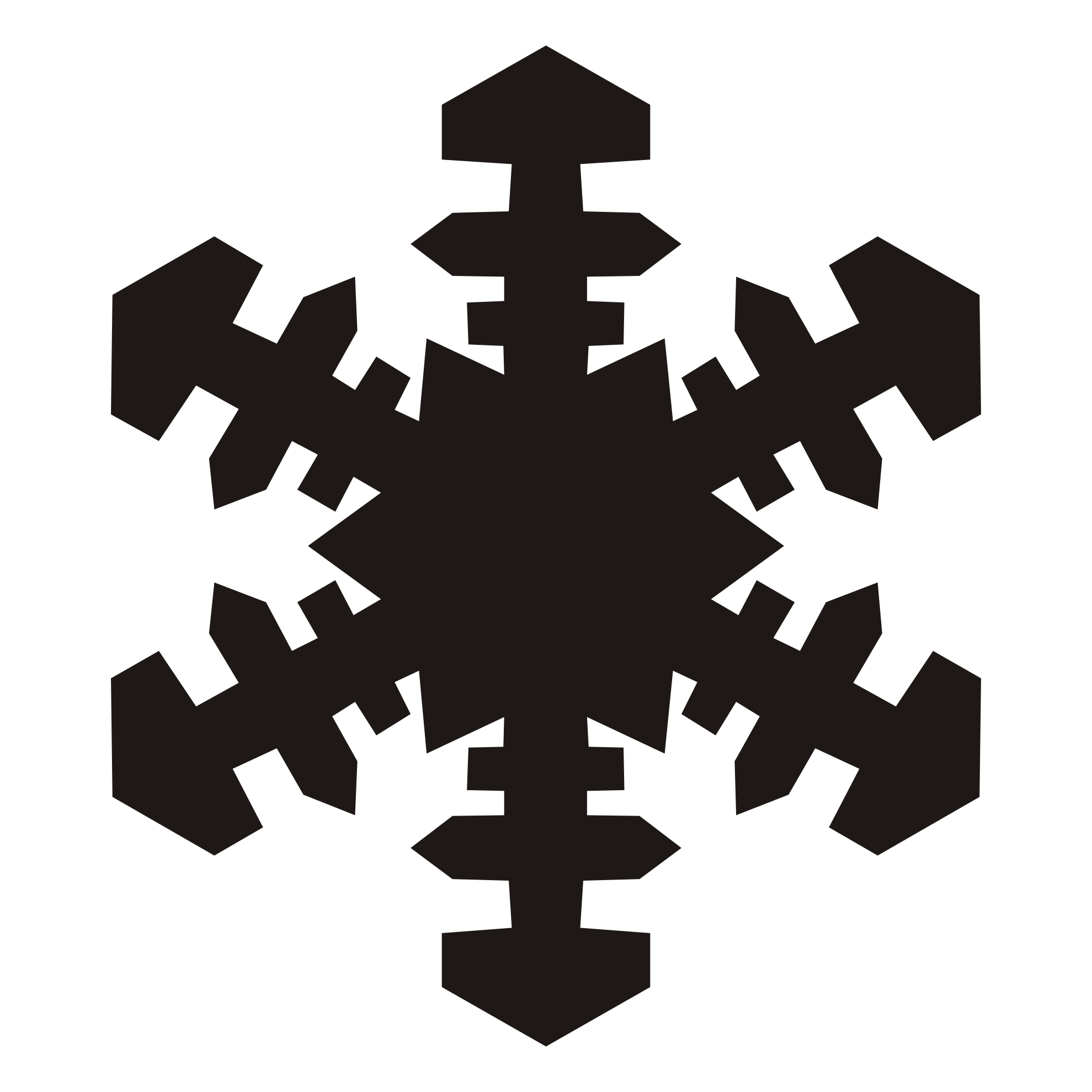 White Snowflake Clipart Png | Clipart Panda - Free Clipart Images
